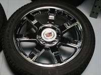 four 07 11 Cadillac Escalade ESV EXT Factory 22 Chrome Wheels Tires