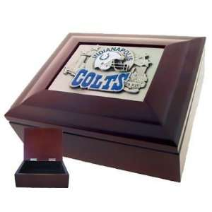 Indianapolis Colts Lined Gift Box   NFL Football Fan Shop