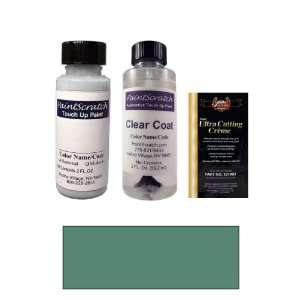 2 Oz. Mineral Green Metallic Paint Bottle Kit for 2001 Mercedes