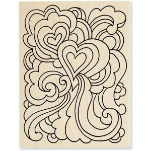 Love Groove   Rubber Stamps Arts, Crafts & Sewing