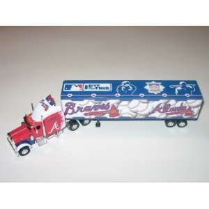 ATLANTA BRAVES Diecast 180 Scale Replica 05 Peterbilt Tractor Trailer