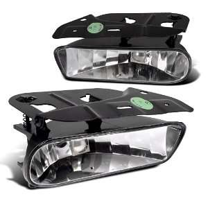 CADILLAC ESCALADE ESV CLEAR OEM STYLE FOG LIGHTS 03 04 05 Automotive