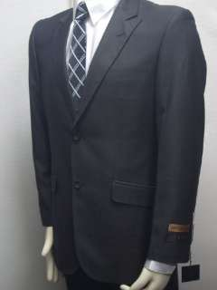 MENS NEW SLIM FIT BLACK DRESS SUIT SIZE 42L NEW SUIT