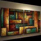 ABSTRACT PAINTING ART MODERN Contemporary DECOR Michael Lang certified