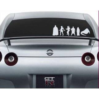 Star Wars Family Decal Set Stick People Car or Wall Vinyl