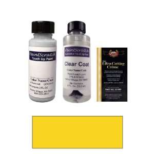 Borrego Yellow Paint Bottle Kit for 2003 Land Rover Discovery (LRC757