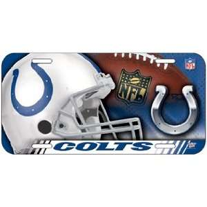 NFL Indianapolis Colts High Definition License Plate