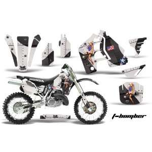 AMR Racing Honda Cr500 Mx Dirt Bike Graphic Kit   1989 2001 T Bomber