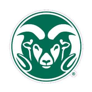 Colorado State Rams Team Auto Window Decal (12 x 10  inch