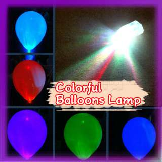 LED Party Lights for Paper Lanterns Balloons Floral For Birthday