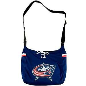 Columbus Blue Jackets NHL MVP Jersey Tote Bag Purse