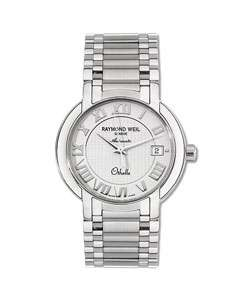 Raymond Weil Othello Mens Silver Dial Steel Watch