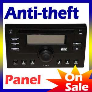 Detachable Anti Theft Security Dummy Face Panel for Double Din 7 Car
