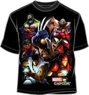 CAPCOM vs MARVEL T Shirt Tee NEW  Street Fighter (MEN)