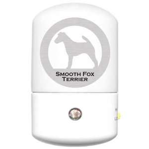 Smooth Fox Terrier LED Night Light