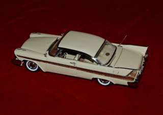 MINT DIE CAST REPLICA 124 PLYMOUTH FURY 1958 BEAUTIFUL MODEL