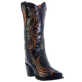 DAN POST SNIP TOE WESTERN BOOTS DP 3215 WOMAN 8 1/2 M 6 79145 11117 1