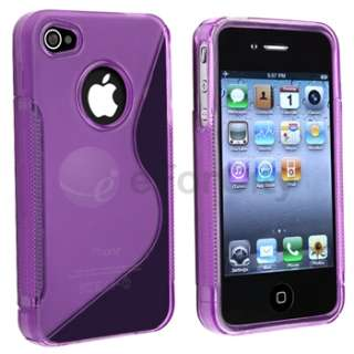 new generic tpu rubber skin case compatible with apple iphone 4 4s