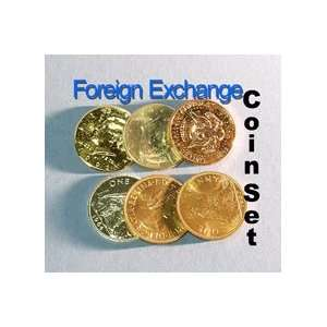 Foreign Ex Change Coin Set Money Magic Trick Money Bill