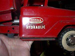 TONKA HYDRAULIC DUMP TRUCK DECAL SET
