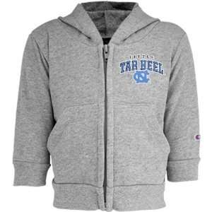 Champion North Carolina Tar Heels (UNC) Ash Toddler Full Zip Fleece