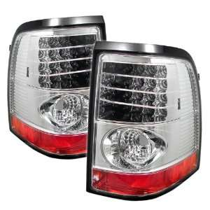 Ford Explorer/Mercury Mountaineer Chrome LED Tail Light Automotive