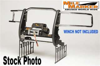 Mile Marker Extreme Mount Winch Grille Guards Dodge Ram 2500 3500