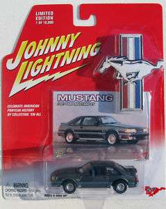 JOHNNY LIGHTNING R5 MUSTANG 1987 FORD MUSTANG GT #27