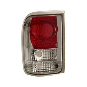 Anzo USA 211071 Ford Ranger Chrome Tail Light Assembly   (Sold in
