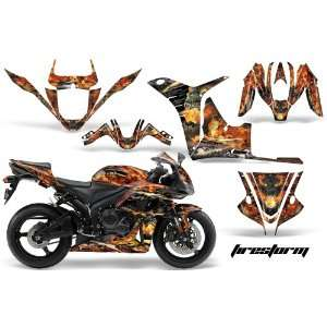 AMR Racing Honda CBR 600rr Sport Bike Graphic Decal Kit