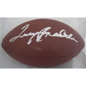 Signed Terry Bradshaw Ball   JSA   Autographed Footballs