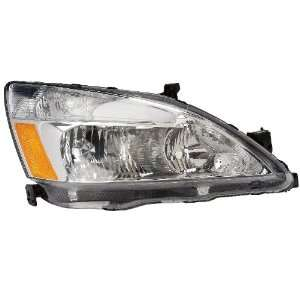 HONDA ACCORD HEADLIGHT ASSEMBLY LEFT (DRIVER SIDE) (WITH CORNER) 1992