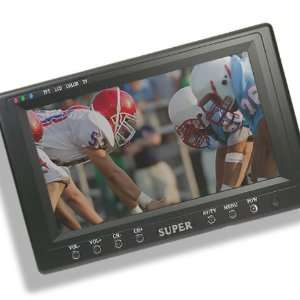 Inch Inches Portable TFT LCD TV Television Monitor RCA/CCTV/Car