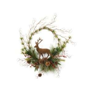 Red Berry Artificial Christmas Wreaths 20