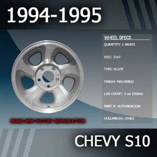 94 04 CHEVY S10 TRUCK CHROME FENDER TRIM Wheel Well