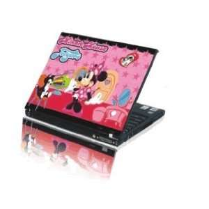 15.4 Laptop Notebook Skins Sticker Cover H508 Minnie