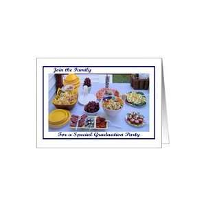 Graduation Party Deli Food Card Toys & Games