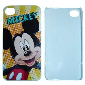 4S / 4G / 4 Mickey Mouse Disney Design on white HARD Protector Cover