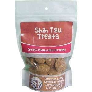 Shih Tzu Dog Treats Organic Peanut Butter Apple  Pet