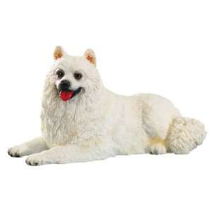 Samoyed Dog   Collectible Figurine Statue Figure Sculpture