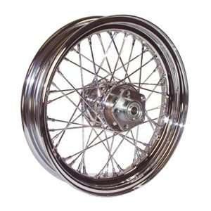 Chrome Wheel For Harley Davidson Ball Bearing Drum Hub Automotive