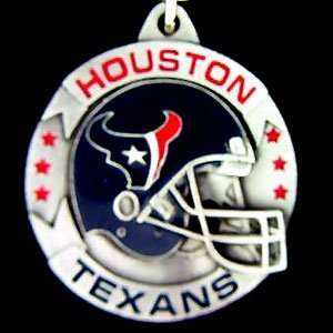 Houston Texans NFL Pewter Helmet Key Ring  Sports