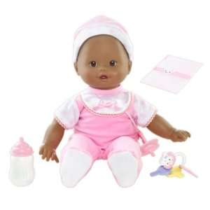 Little Mommy Real Loving Baby Cuddle & Coo Doll (African