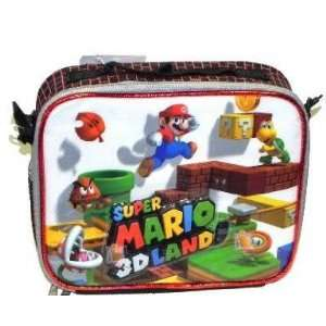 NEW Super Mario Brothers Bros Wii Insulated Lunchbox Lunch Bag Tote