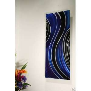Modern Metal Wall Art Painting, Design by Wilmos Kovacs
