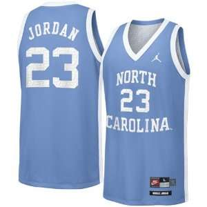 Nike North Carolina Tar Heels (UNC) #23 Michael Jordan Carolina Blue