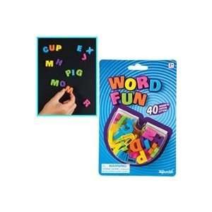 Word Fun Mini Magnetic Letters 40 pc Set Toys & Games