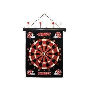 NFL Kansas City Chiefs Dart Board