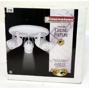 Hampton Bay Dimensions Designer Lighting Halogen Ceiling Fixture