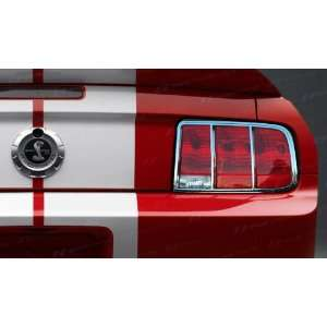 2005 2009 Ford Mustang SES Chrome Tail Light Trim